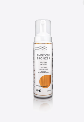 10+1 GRATIS Simply Bronze® self tan Mouse 200ML