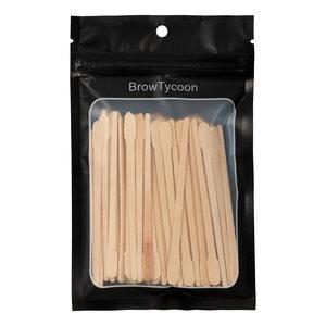 BrowTycoon® Spoon/Point Wax Sticks (100)